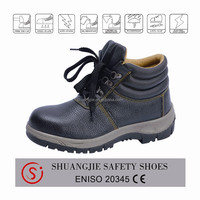 Cheap non leather steel toe boots for wholesale