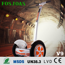 110cc mini jeep 2 wheels self balancing electric scooter with LED light bluetooth waterproof with music Fosjoas V9