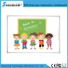 Three size Electromagnetic Dual Pen Interactive Whiteboard Electronic educational equipment for schools