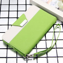 Lovely contrast cell phone belt bags for Samsung Galaxy Note 2