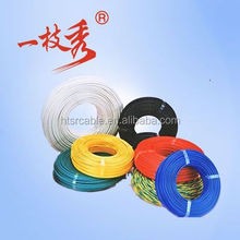 PVC/RUBBER Insulation 3/4 cores 50 sq MM oil resistant cold resistant flat round submersible deep well pump cable UL Approved