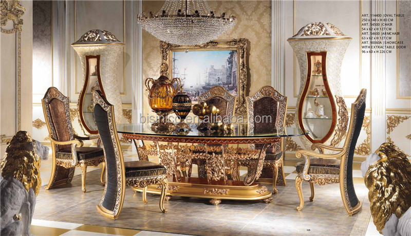 Italian Royal Dining Room Furniture SetImperial Wood  : Italian Royal Dining Room Furniture Set Imperial from alibaba.com size 800 x 461 jpeg 172kB