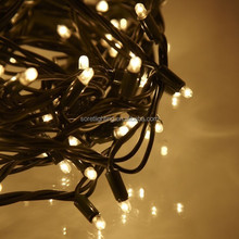 waterproof rubber wire IP65 outdoor LED string lights