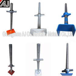 Adjustable acro jacks for shoring
