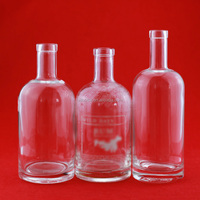 High quality bourbon whiskey glass bottle 500ml 700ml 750ml