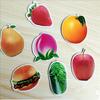 custom fruit and animals fridge magnet for kids