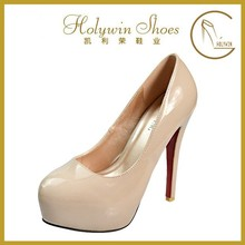 2015 new fashion style simple design high heels stiletto lady dress shoe