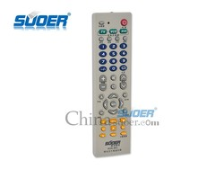 Suoer Factory Price TV/VCD/DVD 3 In 1 Remote Control Universal Remote Control