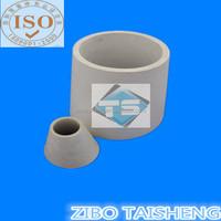 Aluminium Ceramic (Al2O3)Cone Shaped Ceramic Tube for Coal Cinder