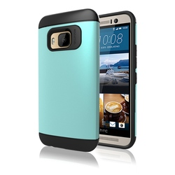Hard Brushed Metal Cover mobile cover for HTC one M9