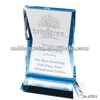 Sapphire Illumination Crystal wedding anniversary gift