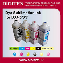 Sublimation ink Direct heat transfer dye ink for Mimaki/Roland/Mutoh,print on jeans,leather,garment,porcelain,CISS refill kits