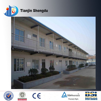 fireproof portable modern modular homes strong style color flat roof strong prefab house