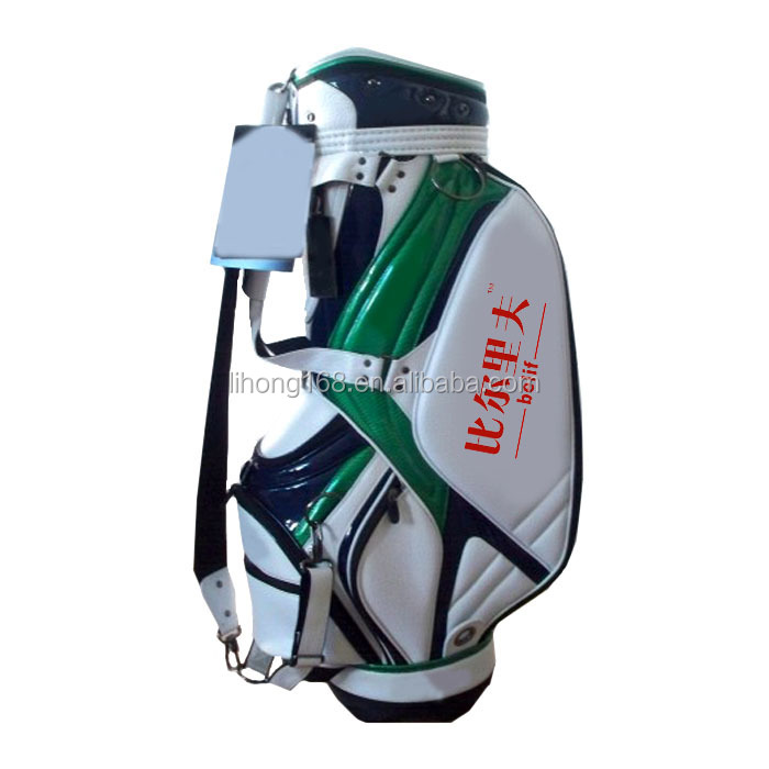 Oem advertising colorful golf staff bags