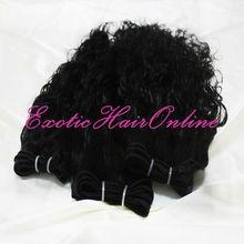 Exotichair human hair ponytail hair weft
