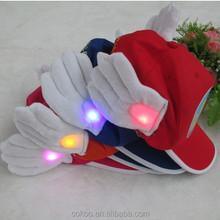 Cute Arale children cap with led light baseball