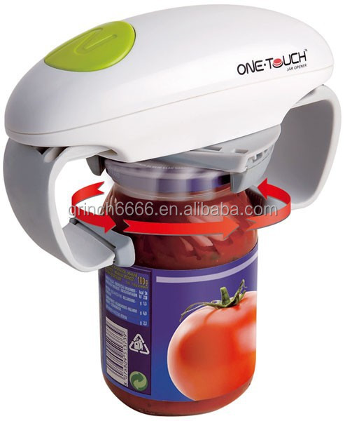 one touch can opener electric can or bottle opener one touch jar opener as seen on tv buy. Black Bedroom Furniture Sets. Home Design Ideas