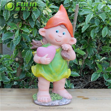 OEM Sweet Girl Resin Statue 15.2""