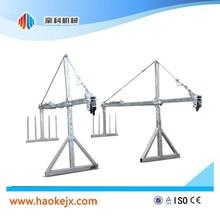 ISO&CE Aluminium working gondola lifting gondola hoist building platform