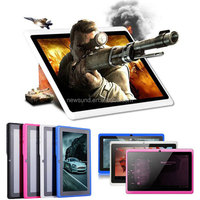 Original 800*400 resolution wi-fi 512MB ram dual core bluetooth android 4.0 q88 low price 7 inch tablet pc