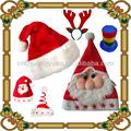 2014 caliente venta de navidad de la tapa, sombrero de papá noel, sombrero de la navidad,