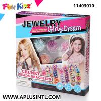 Kids Craft DIY Girly Dream Chunky Beads Bracelets Kits