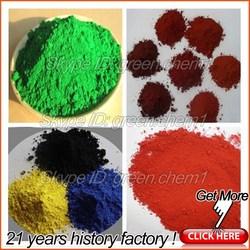 Factory hot sale 95% red iron oxide(ci77491) and blue ceramic powder oxidized bitumen for paint/pavers/concrete/bricks