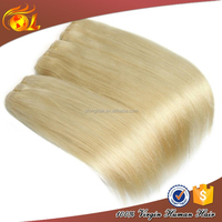100% virgin raw unprocessed Platinum Blonde malaysian human Hair Weave