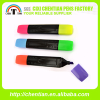 Hot Sale Top Quality Novelty Multicolor Plastic Highlighter Pen
