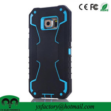 alibaba china factory 3 in 1 shockproof cellphone character Silicone Case for samsung galaxy s6