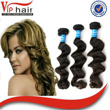 6a quality unprocessed loose wave aliexpress Brazilian hair product