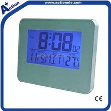 alarm clock with motion sensor with radio controlled function for optional