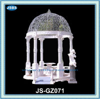 Wholesale Natural Marble Carved Cheap Outdoor Bar Gazebo