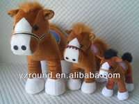 2014 hot sale different option sizes robust horse plush toy