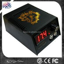 CE,SAA,FC certified Plastic Ekion LED digital tattoo power supply