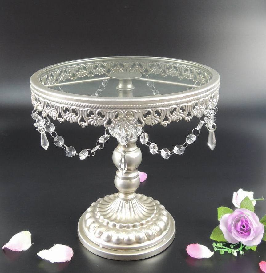 Wedding Cake Stands For Sale: French Style Antique White Wedding Cake Stand