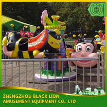 Alibaba fr 2012 best seller electric rotary bee rides for outdoor playground