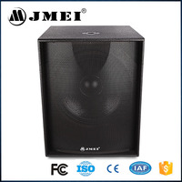 """S-18 450w 15"""" 18"""" Fashion P Audio System Cheap Large Portable Professional Subwoofer Active Speakers"""