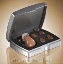ITC Type Standard Frequency Button Size Battery Full Digital Hearing Aids