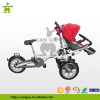 Innovative bike stroller,fahrrad kinderwagen,carry baby on th front of the tricycle