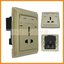 2100mA AC110- 250V /10A Universal dual USB port wall socket for ipad for iphone