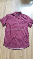 Men's fashion new model short sleeve shirt china overstock
