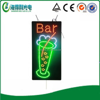 New design Good quality for shop and bar Acrylic HIDLY Led bar sign