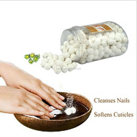 Manicure Pedicure Comfort Whitening Products Milk and Honey 1000g Fizzy Ball Nail Care Nail Soak Spa