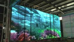 customized full color mobile viewing display LED dancing screen