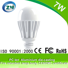 2015 High Cost-Effective Hot Sale Factory Price 7W Led Bulb Pc Cover / Led Light Bulb Replacement