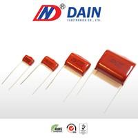 Metallized polyester resin film capacitor 10uf cl21 400v 630v 250v