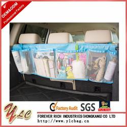 Oxford Fabric Car Rear Racks Boot Tidy Bag Organizer Organize Bag Auto Storage Box Multi-use Tools Organiser
