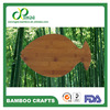 High Grade fish animal shape bamboo cutting board with FDA approved