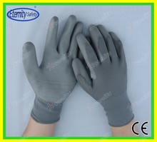 Nitrile/latex/pu coated glove Thoughtful good service concept safety glove